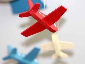 miniature of a plane